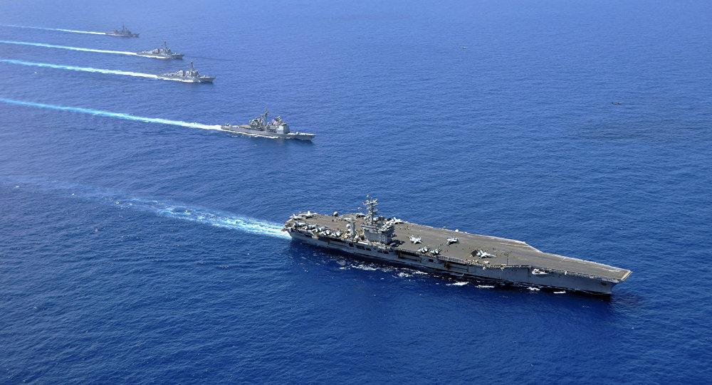Корабль ВМС США столкнулся срыболовецким судном вЯпонском море