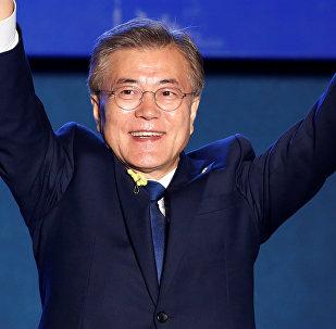 Түштүк Кореянын жаңы президенти Мун Чжэ Ин