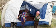 Ош облусунун Чоң-Алай районундагы Жекенди айыл өкмөтүнө караштуу айылдын бириндеги чатыр