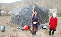 Чоң-Алайдагы жер титирөөнүн кесепети. Архивдик сүрөт