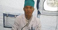 Чоң-Алай райондук жалпы дарыгерлер практикалык борборунун адиси, дарыгер-хирург Мамасейит уулу Абдымалик