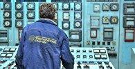 Работник ТЭЦ Бишкека. Архивное фото