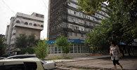 В центре Бишкека возле кафе Океан. Архивное фото