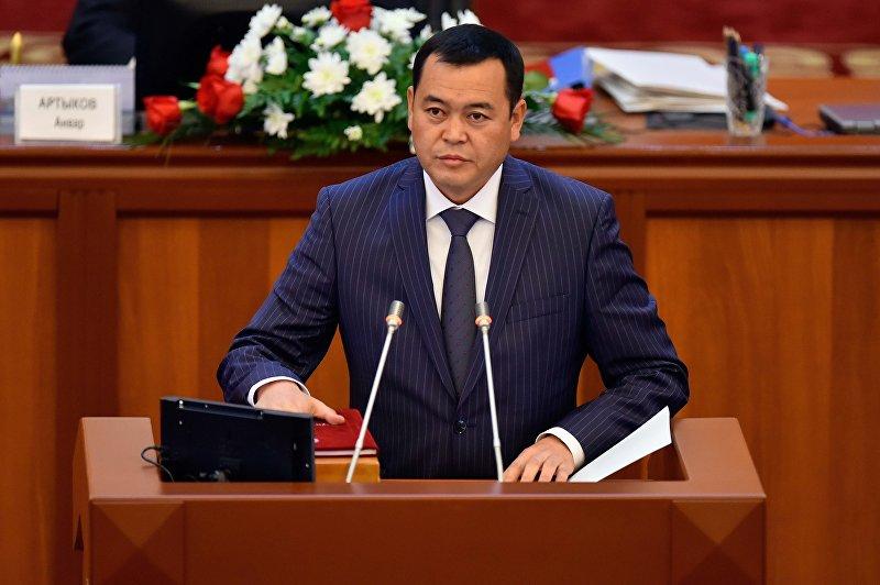 Депутат 6 созыва от фракции Онугуу — Прогресс Мирлан Бакиров. Архивное фото