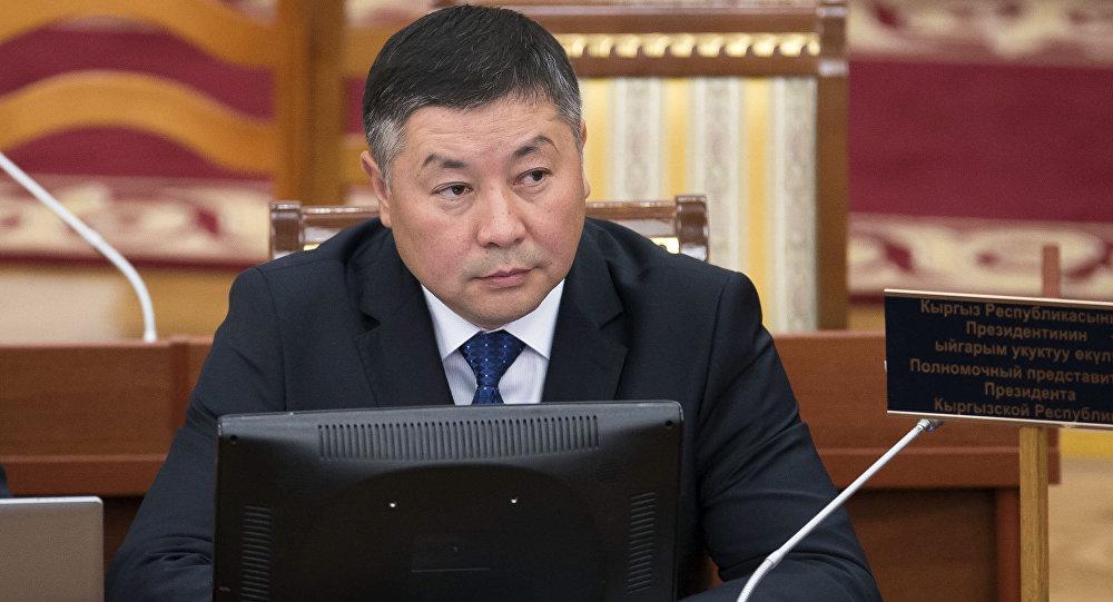 Депутат Канат Исаевдин архивдик сүрөту