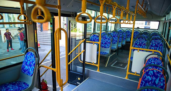 Салон новых автобусов. Архивное фото
