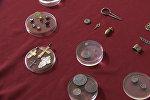 Археологи показали найденные  монеты эпохи Ивана Грозного