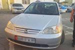 Автомобиль одного из задержанных подозреваемых в наезде на детей на пешеходном переходе по улице Абдрахманова