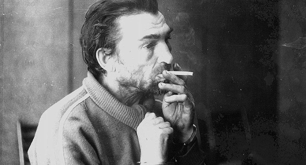 Архивное фото знаменитого фрунзенского некрофила Михаила Лукьянова, задержанного в 1995 году в Кемине