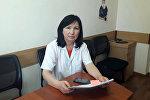 Инфекциялык эмес ооруларды алдын алуу жана санитардык көзөмөл башкармалыгынын жетекчиси Бүбүжан Арыкбаева