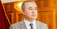 Архивное фото лидера партии Ата-Мекен Омурбека Текебаева