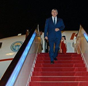 Президент Алмазбек Атамбаев 14-майда Кытай Эл Республикасынын борбору Пекин шаарындагы жумушчу сапарынын алкагында Бир алкак – бир жол эл аралык форумуна катышууда