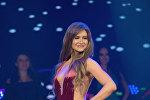Дубайда өткөн Queen of USSR Dubai — 2017 эл аралык сулуулук сынагына Кыргызстандын атынан катышкан украиналык Алиса Саросек