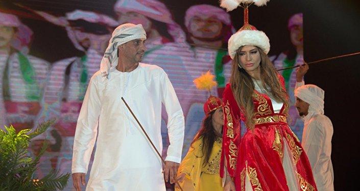 Украинка Алиса Саросек, выступавшая от Кыргызстана на международном конкурсе красоты Queen of USSR — 2017 в Дубае (ОАЭ), завоевала первое место