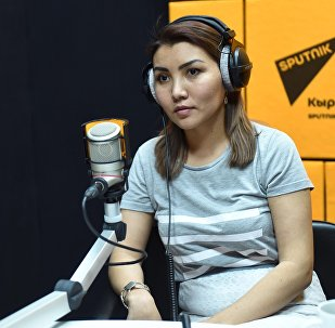Генеральный директор телекомпании NEXT TV Жаннат Токтосунова во время интервью Sputnik Кыргызстан
