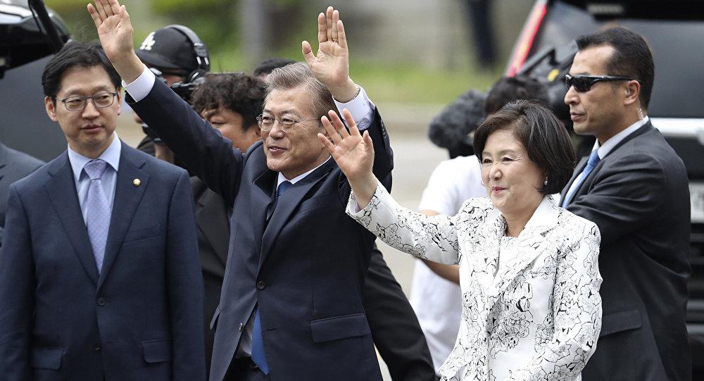 Путин провёл телефонный разговор сновым президентом Южной Кореи