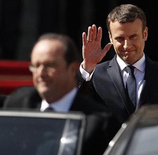 Инаугурация избранного президента Франции Эммануэля Макрона
