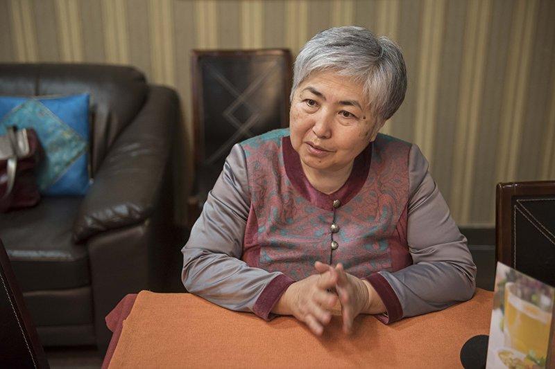 Эксперт традиционных знаний Чынара Сейдахматова
