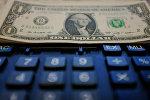 АКШ доллары жана калькулятор. Архив