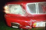Автомашина Subaru Forester водитель которого насмерть сбил пешехода