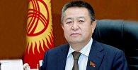Жогорку Кеңештин төрагасы Чыныбай Турсунбеков. Архив