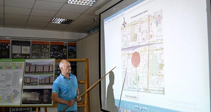 При разработке проекта застройки учитывалось техническое состояние двух- и трехэтажных зданий, построенных в 50-60-х годах прошлого столетия для треста Фрунзегорстрой.