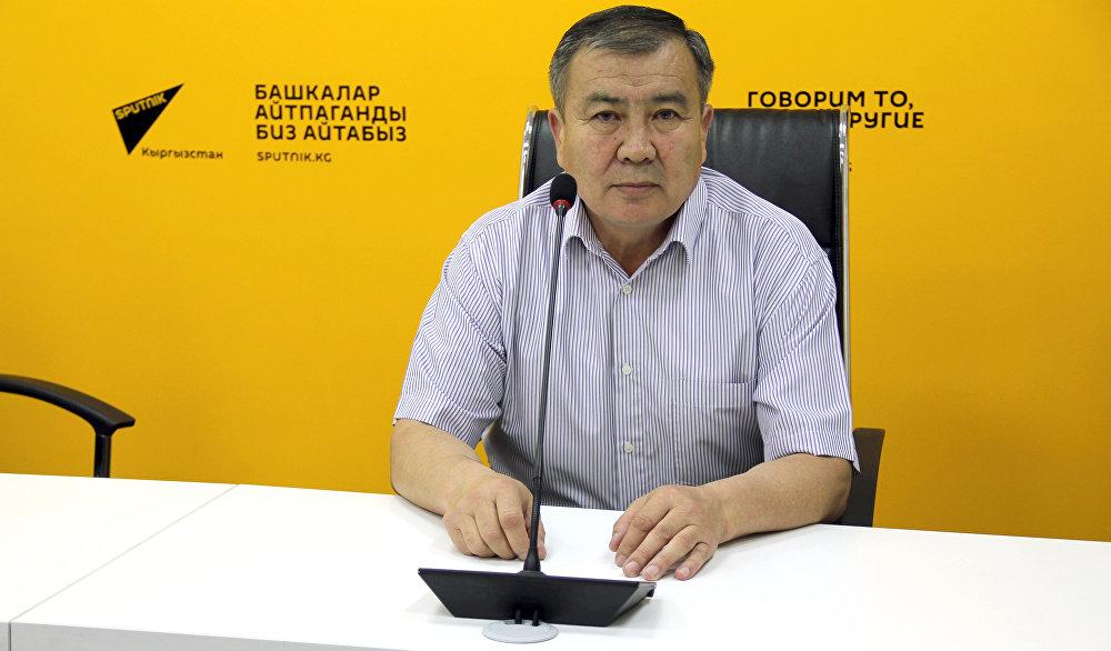 Заместитель начальника Управления капитального строительства мэрии Бишкека Койчугул Ибраимов