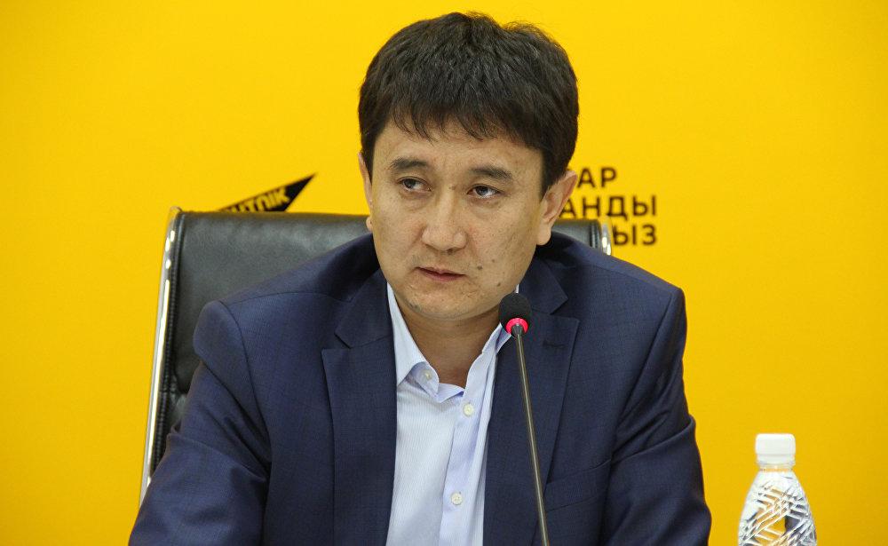 Начальник Управления муниципальным имуществом мэрии Бишкека Султан Омуров