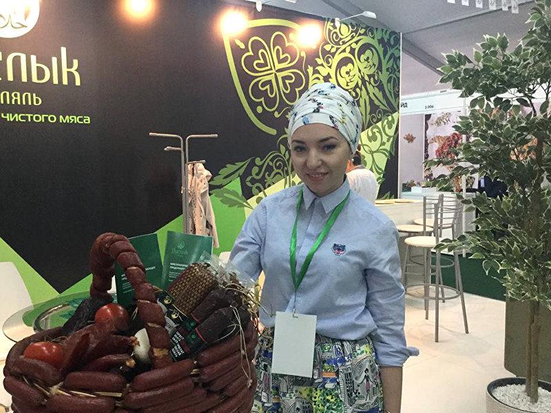 Менеджер по развитию российского мясоперерабатывающего предприятия Гузали Харуллова