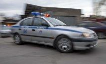 Автомобиль сотрудника патрульной милиции. Архивное фото