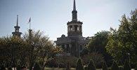Вид на здание Международного университета Кыргызстана в Бишкеке. Архивное фото