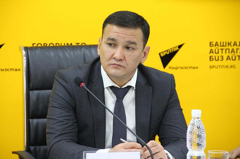 Начальник муниципального предприятия Бишкекглавархитектура Асхат Тюлебердиев