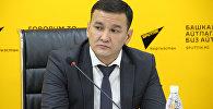 Глава муниципального предприятия (МП) Бишкекглавархитектура (БГА) Асхат Тулербердиев