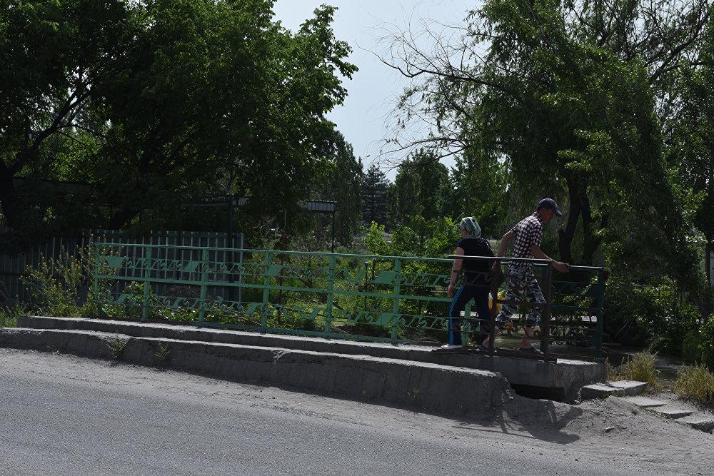 Опасные мосты в Бишкеке