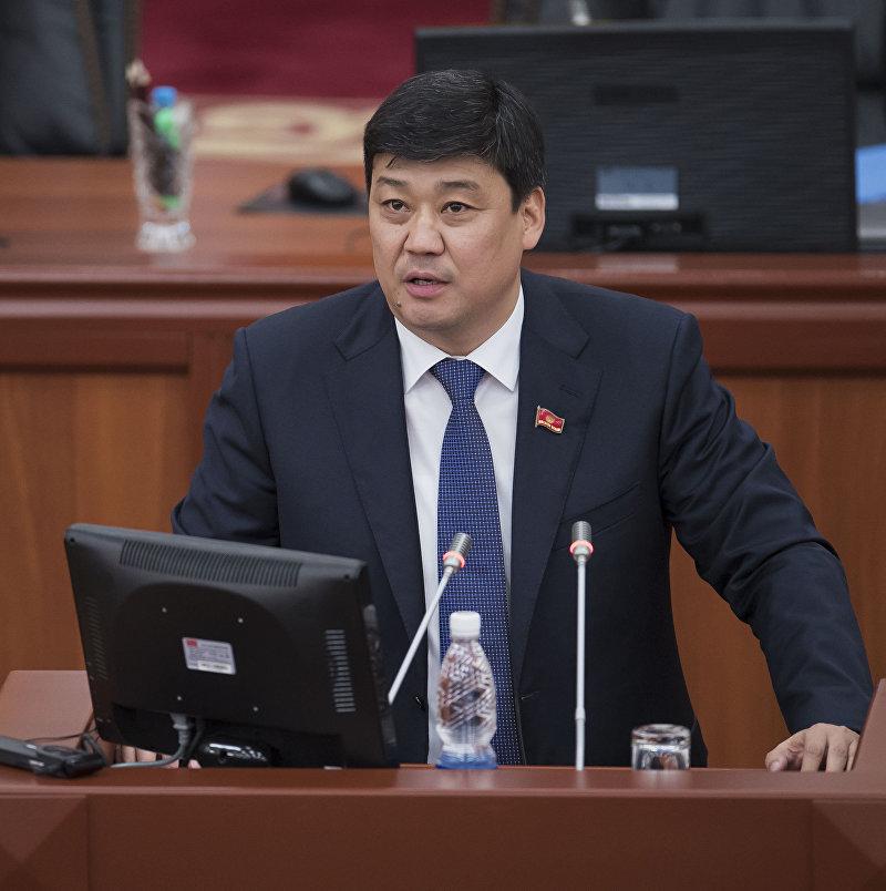 Депутат Жогорку Кенеша Бакыт Торобаев от фракции Онугуу — Прогресс. Архивное фото