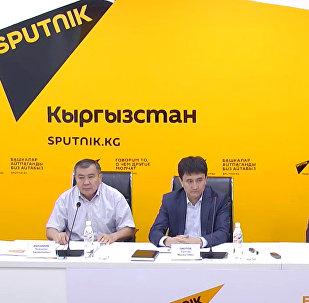 Ремонт столичных подземок обсудили в пресс-центре Sputnik Кыргызстан