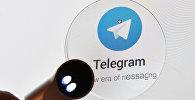 Мессенджер Telegram. Архивное фото