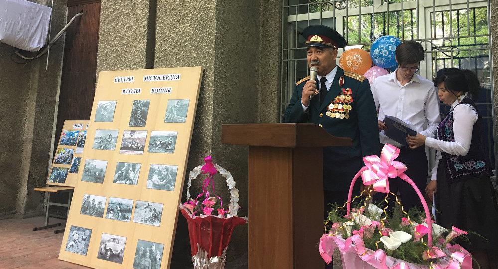 На Станции скорой медицинской помощи Бишкека состоялось торжественное открытие мемориальной доски, посвященной героям Великой Отечественной войны