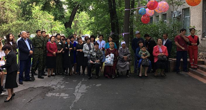 Сегодня, 19 мая, на Станции скорой медицинской помощи Бишкека состоялось торжественное открытие мемориальной доски, посвященной героям Великой Отечественной войны