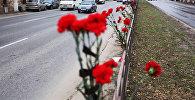 Цветы у дороги. Архивное фото