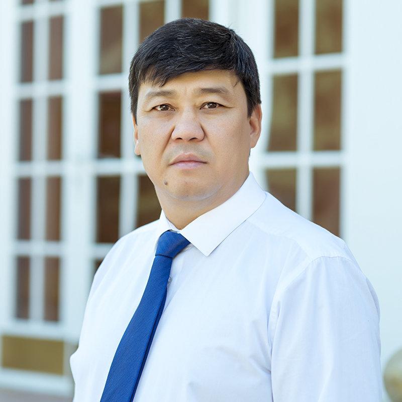 Архивное фото депутата Жогорку Кенеша от фракции Онугуу — Прогресс Бакыта Торобаева
