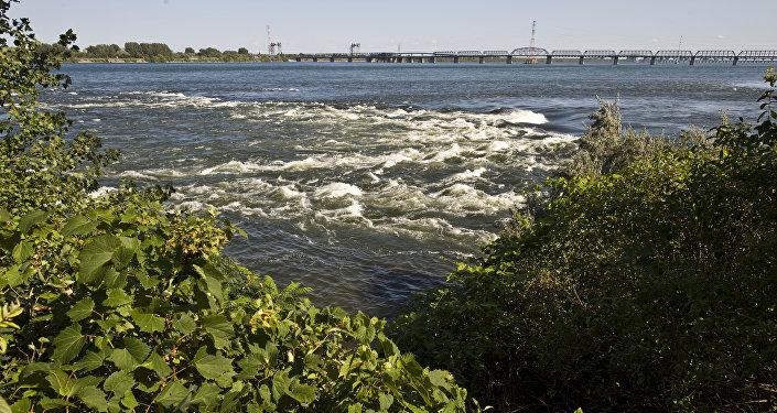 Река в Монреале, Канада. Архивное фото