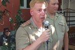 Военный атташе Посольства России в Узбекистане Сергей Чернышев