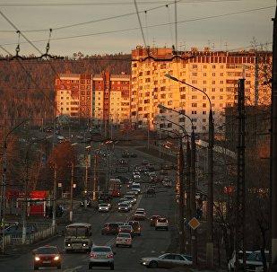 Город Иркутск. Архивное фото