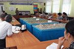 Ош жана Баткен облусунун мугалимдери табигый мүнөздөгү өзгөчө кырдаалдар боюнча семинарга катышышты