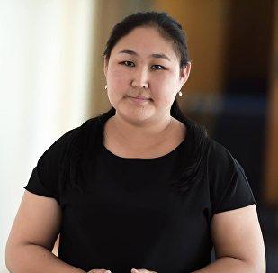 Исполняющая обязанности пресс-секретаря мэрии Бишкека Перизат Айдарбекова