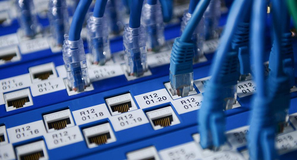 Сетевое оборудование. Архивное фото