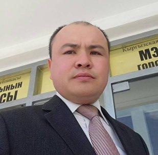 Балыкчы мэриясынын маалымат катчысы Адилет Бейшеналиев
