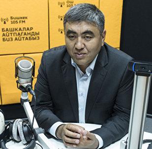 Муфтийдин орун басары Замир кары Ракиев Sputnik Кыргызстан радиосуна маек учурунда