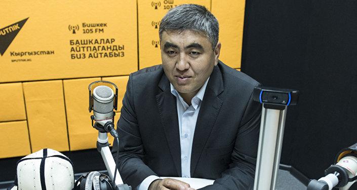 Заместитель муфтия Кыргызстана Замир кары Ракиев